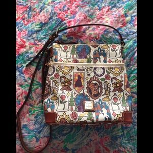 Disney Dooney and Bourke Beauty and the Beast bag